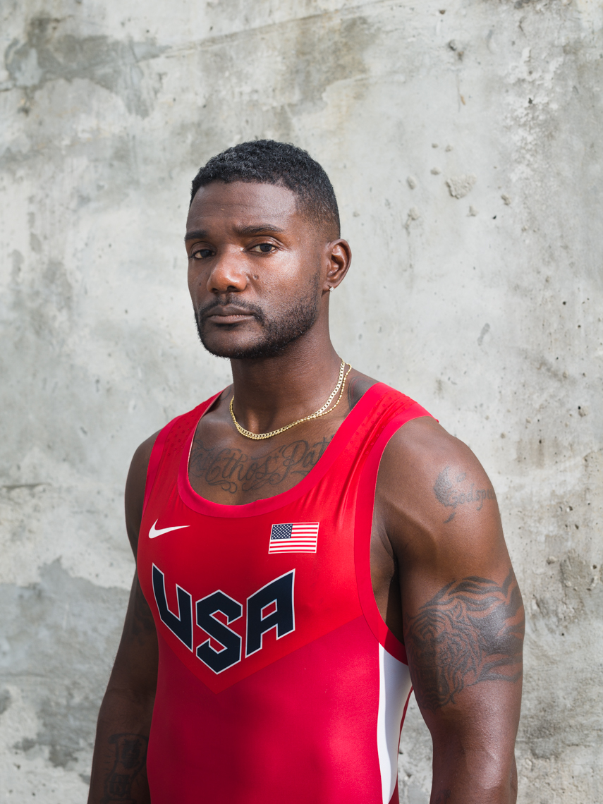 Team USA Sprinter Justin Gatlin